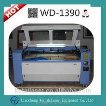 1390 130w CNC CO2 Laser Type and Water Cooling Cooling Mode Wood acrylic marble / granite stone laser engraving machine