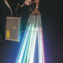 2014 newest christmas 3d disco smd5050 led meteor shower rain light