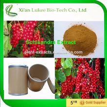 Chinese medicinal herb Schizandra extract schisandra 9%