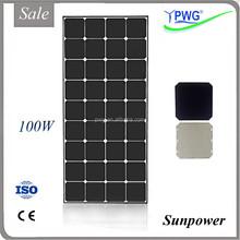 Cheap Price Per Watt High Efficiency Solar Panel Production Line 100w Sunpower