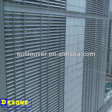 exterior prefabricated fixed aluminum louver