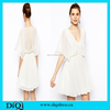 Feminine white dress pictures of women in transparent dress chiffon evening dress western frocks