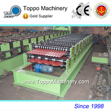 New Galvanized Roof Wall Panels Roll Forming Machine With New Technology