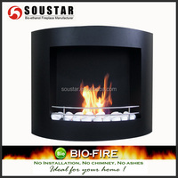 Simplex electric fireplace wall mounted