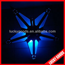 3D festival or Party decorative paper star with LED