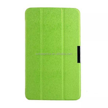 slim folding leather case tablet cover case for lg v500 tablet pc