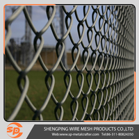 high quality chain link wire mesh fence ( china professional manufacturer )