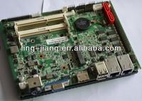 24V Mini Singal Board Computer With intel D2550 Processor