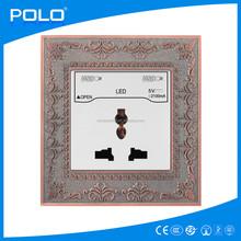 multiple socket with usb usb wall power socket eu type wall socket with usb port