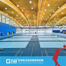 sports flooring / PVC sport floor
