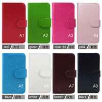 Wholesale High Quality Stand Wallet Flip Leather Case for HTC Wildfire G8