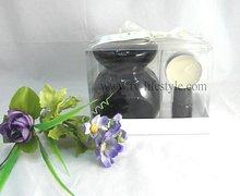 ceramic black oil burner, halloween decoration, spa