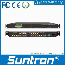 High-Quality Sound Matrix Switcher AV0404 Design for Multi Screen Connection System Switch