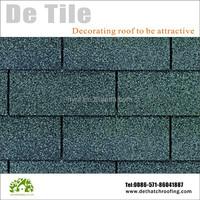 China high quality Building Material asphalt roof shingle 3 -tab