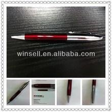 Best nice looking silver body twist metal ballpoint pen