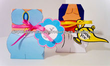 child's birthday party favors Princess Jasmine and Aladdin Paper Party Treat Boxes Birthday Party Favor Boxes