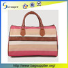 Fashionable Ladies Vanity Travel Bag Leather Pouch travel bag leather