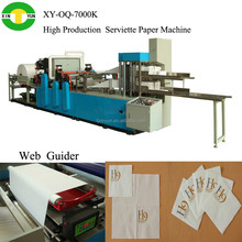 full automatic 2 colors folding serviette paper processing Machinery