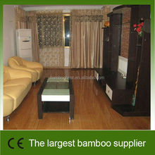 Professional bamboo manufacturer hand scraped bamboo flooring