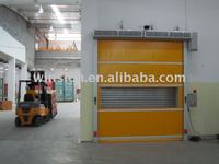 Industrial high speed rolling gate