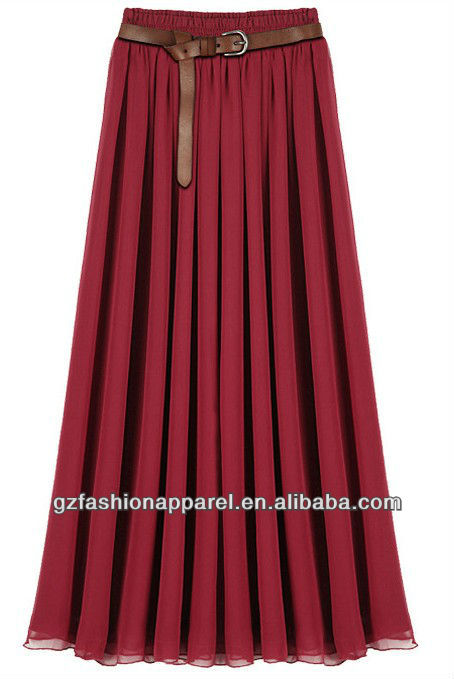Long Chiffon Skirts Models Latest Long Skirts Design Women ...