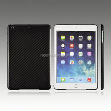 Professional super thin real back cover for ipad mini 3 carbon fiber