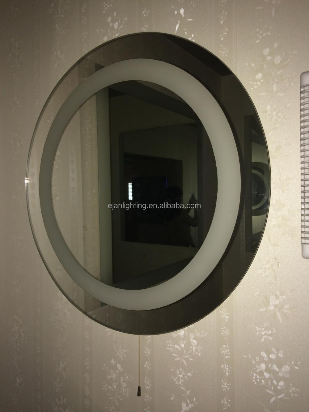 ce etl cetl led verlicht ovale badkamer spiegel-bad spiegels ...