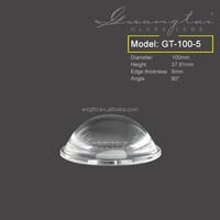 High power COB 100mm 80 degree led optical lens for high bay light wholesales