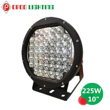 New Arrival 18800lumen 10inch 225w Led Driving Light
