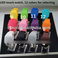 2013 New Popular Silicone Rubber Wristband Watch TW-3