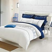 Latest design 100% mulberry silk filling quilt sets/duvet cover/bed sheet set