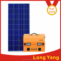 complete home solar power system 300 W solar power DC and AC system solar generators china