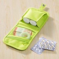 portable storage pouch for drugs and medicines essential travel pouch