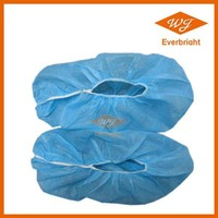 Nonwoven Disposable CPE Shoe cover, Plastic Shoe Cover For Family and Work Place