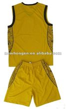 2012 sublimation latest basketball jersey design