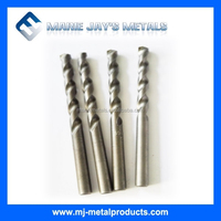 Tungsten carbide tipped drill bits for aluminium