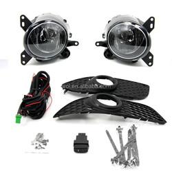 TIROL Fog Driving Light Lamp kit OEM Replacement for Mitsubishi lancer 2008 Pickup Truck Smoke Front Bumper Lamps Pair