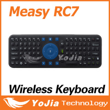 [Genuine] Measy RC7 Smart Remote 2.4GHz USB Wireless Keyboard Gyroscope Air Fly Mouse for Mini PC Android TV Box Mini Keyboard