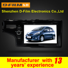 """TFT touch screen 8"""" 2 din car DVD player with GPS Radio Ipod Bluetooth 3D UI for Honda FIT 2014"""