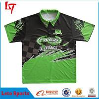 2014 Fashion Stylish Customized Motorcycle Wear /Sublimation Team Motor Jersey /Motor Racing Clothing OEM Manufacturer