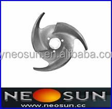 Stainless Steel Three-Blade Impeller for Milk Stirrer, Mixing Stirrer