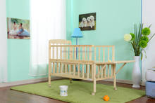 cute baby single bed,wooden baby bed for kindergarten and family