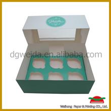 Packaging Boxes small OEM cupcake box cake box packaging