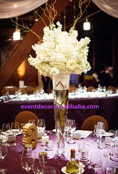 Wholesale Clear Tall Vase For Table Centerpiece Buy Wholesale