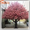 Large artificial cherry blossom tree plastic cherry blossom artificial flower for wedding artificial indoor cherry blossom tree