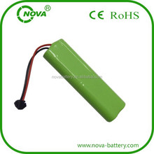 ni-mh rechargeable battery packs aa 4.8v 800mah nimh with 10k thermistor