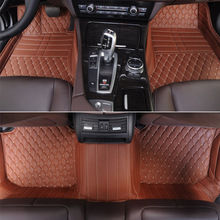 Hot sale fashion leather 3d car floor mat for volkswagen the beetle