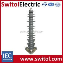 60KV~84KV High Voltage Power Electrical Station Composite Surge Arrester Lighting Arrestor