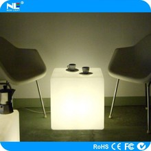 3D waterproof led cube light .remote control led cube chair,with 16 colors change for bar /night club/party /wedding