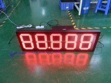 glare led gas price sign 88.888 format